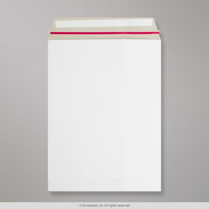 Enveloppe blanche tout en carton 330x248 mm