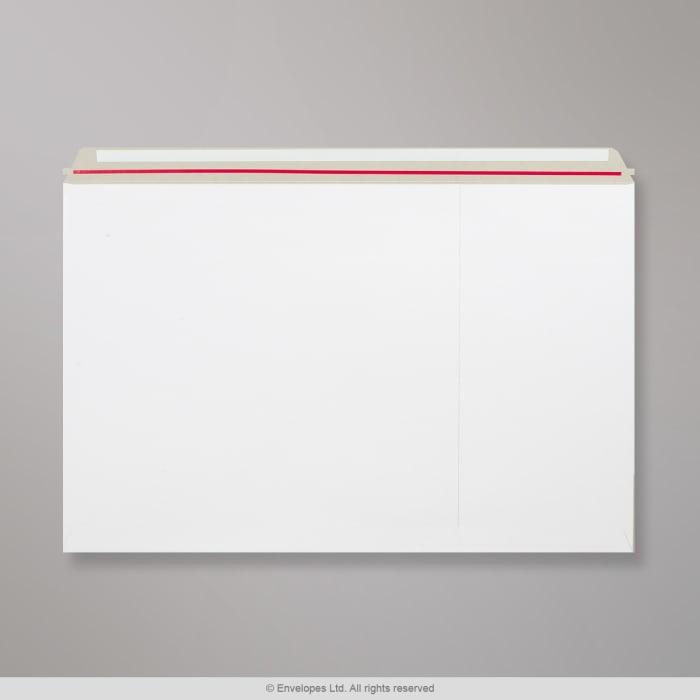 Enveloppe blanche tout en carton 444x625 mm