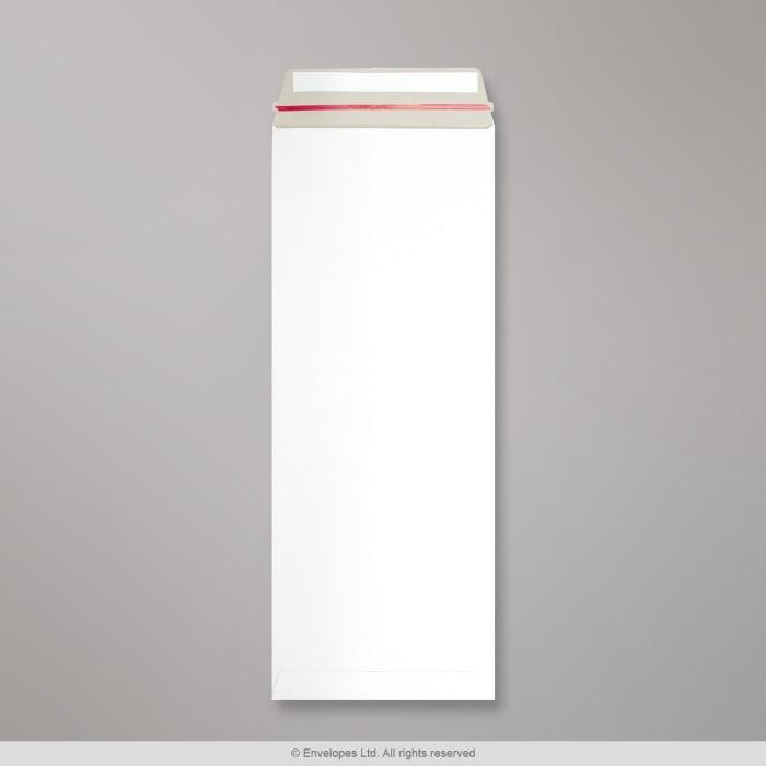 Sobre blanco de cartón de 440x170 mm