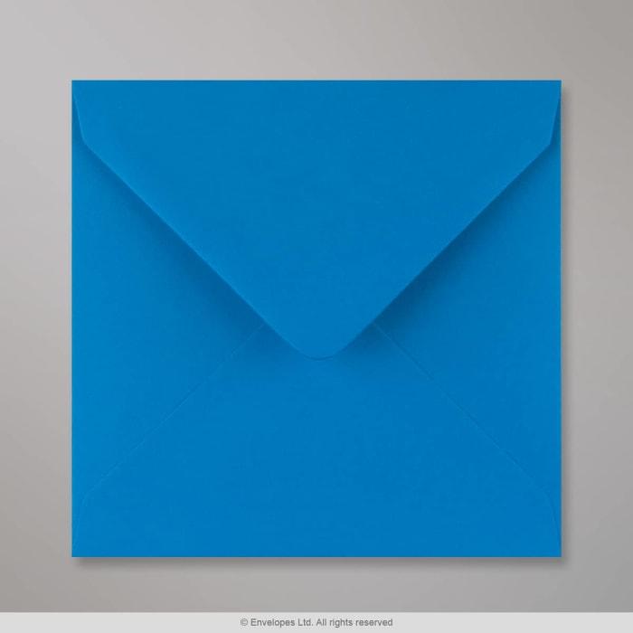 140x140 mm Intensywnie zielono-niebieska koperta