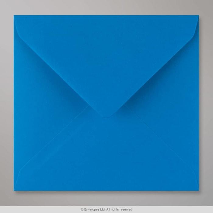 155x155 mm Kingfisherblauw Envelop