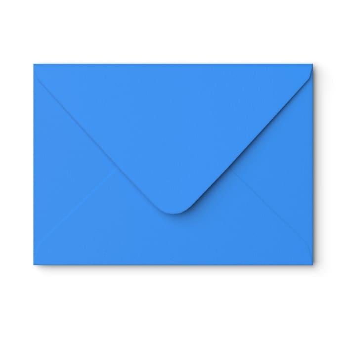 Enveloppe bleue martin-pêcheur 162x229 mm (C5)