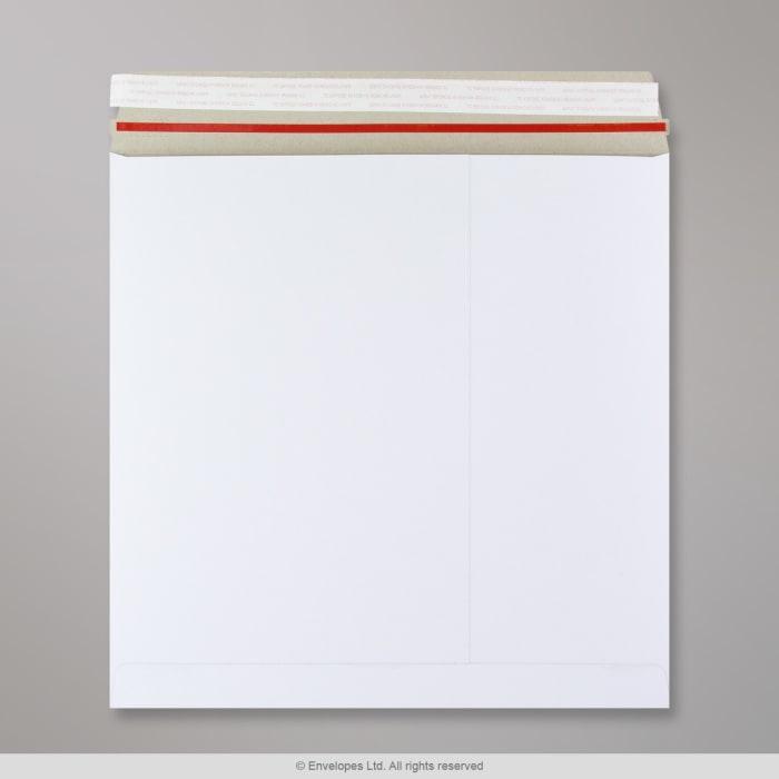 Sobre blanco de cartón de 300x300 mm