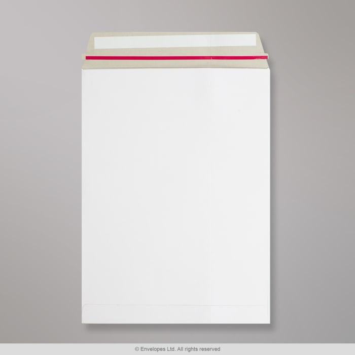 Enveloppe blanche tout en carton 229x162 mm (C5)