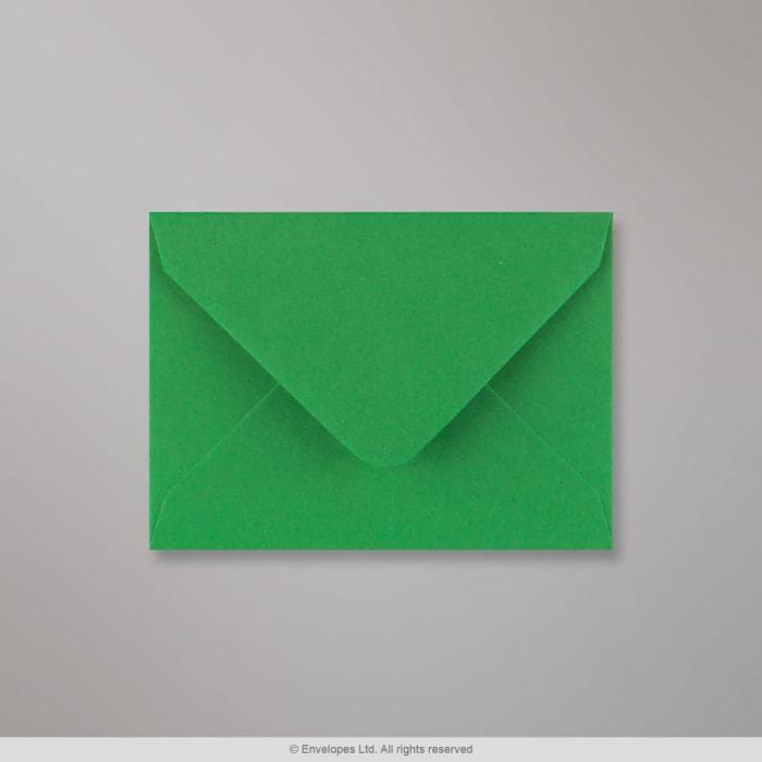Julegrøn konvolut 82x113 mm (C7)