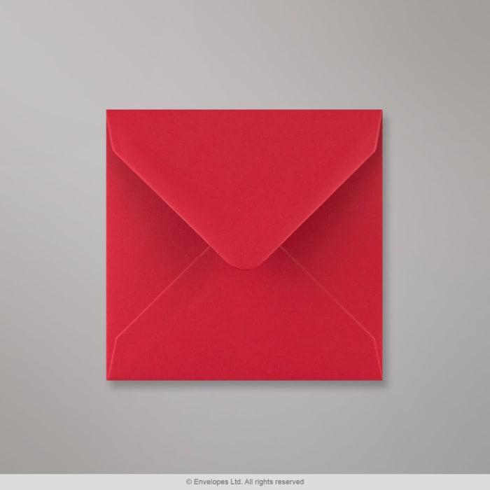 Šarlatově červená obálka 116x116 mm