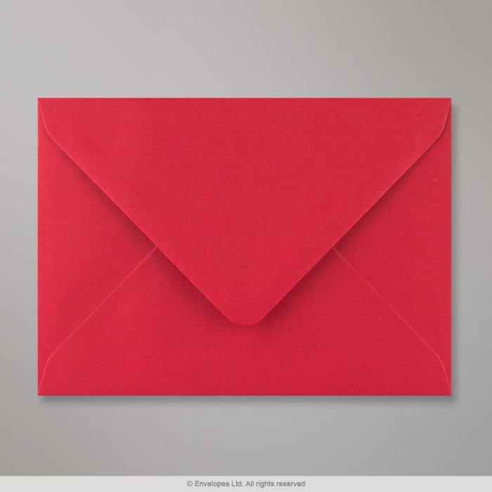 Šarlatově červená obálka 114x162 mm (C6)