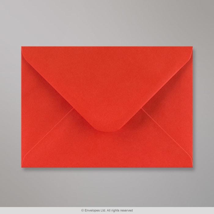 133x184 mm Klaproosrode envelop
