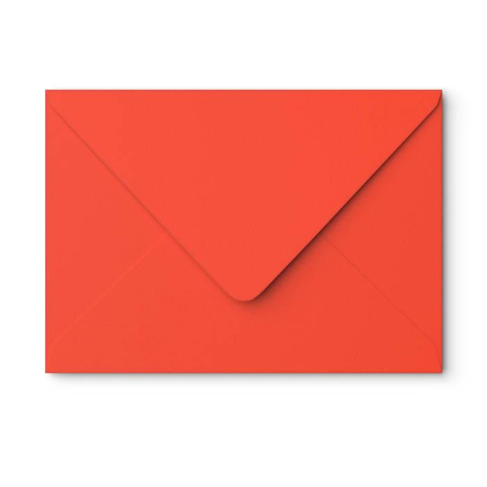Sobre rojo amapola de 162x229 mm (C5)