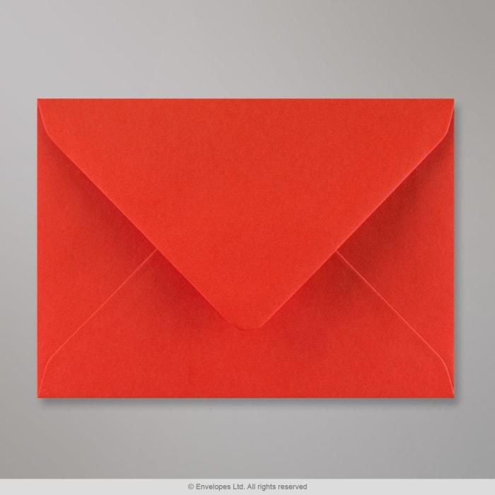 Sobre rojo amapola de 114x162 mm (C6)