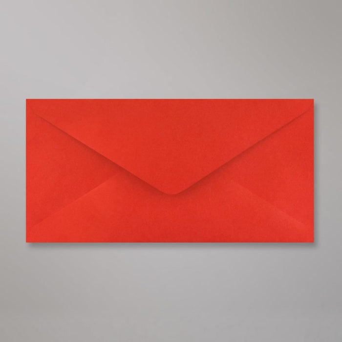 110x220 mm (DL) Busta Rosso Papavero