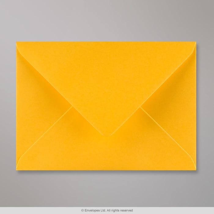 Gyldengul konvolut 125x175 mm