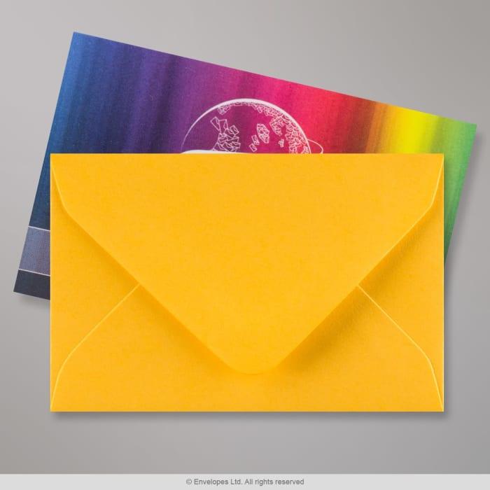 62x94 mm Goudgeel Envelop