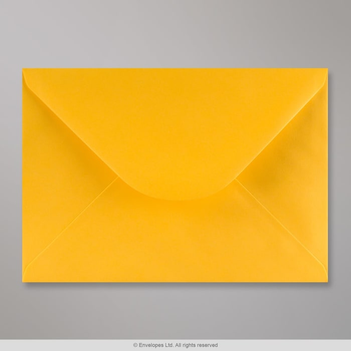 Kullankeltainen kirjekuori 162x229 mm (C5)