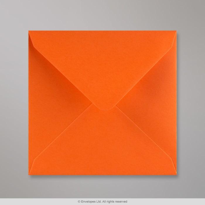 140x140 mm Oranžová obálka