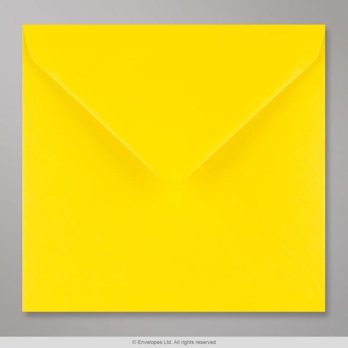 155x155 mm Narcisgeel Envelop
