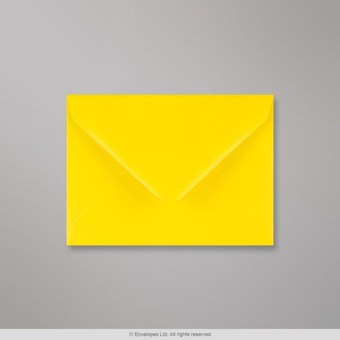 Gelber Briefumschlag 82x113 mm (C7)