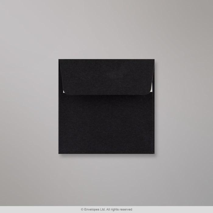 100x100 mm Zwarte Envelop