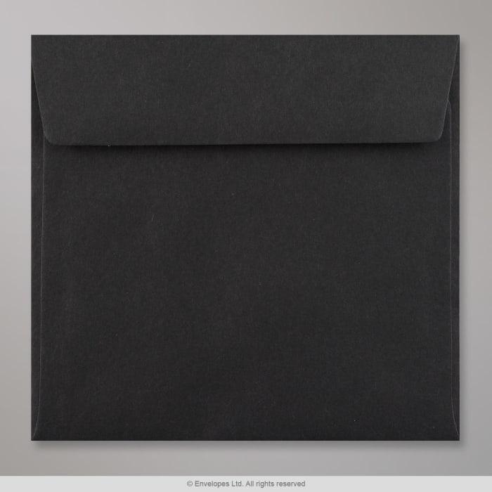 Enveloppe noire 170x170 mm
