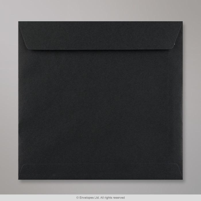 220x220 mm Čierna obálka
