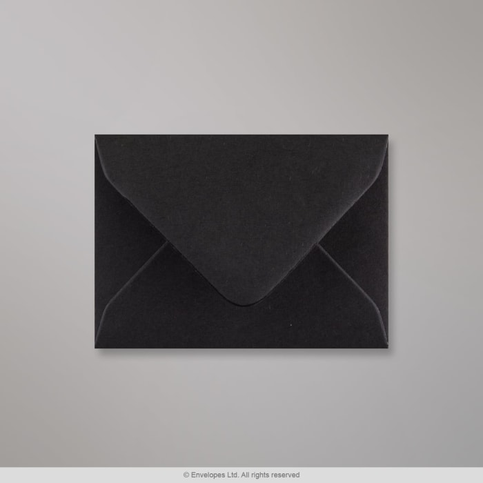 70x100 mm Zwarte Envelop
