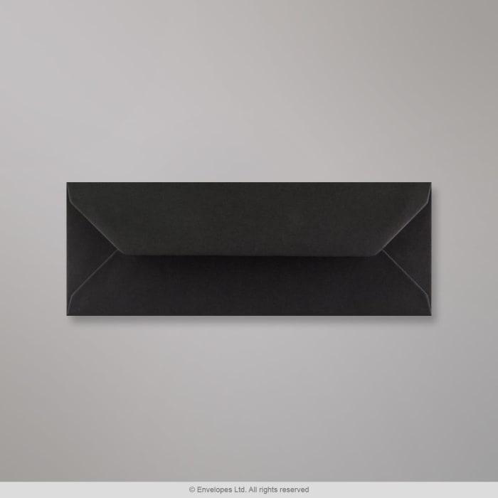 Musta kirjekuori 80x215 mm
