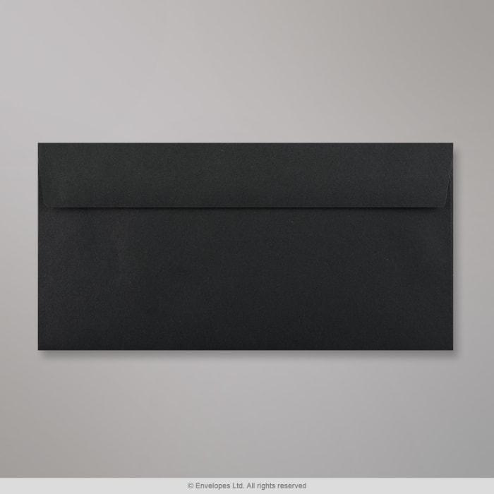 110x220 mm (DL) Zwarte Envelop