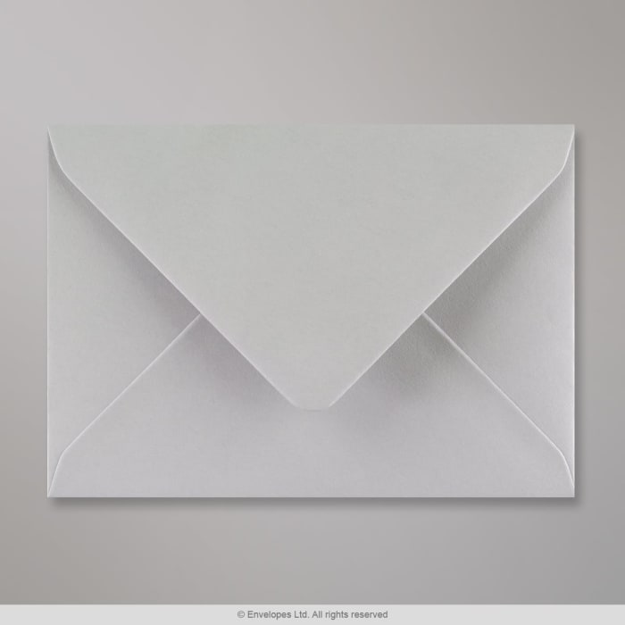 Enveloppe grise claire 114x162 mm (C6)