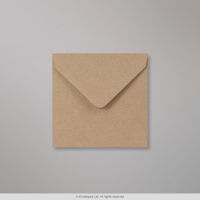 Rakeisen näköinen kirjekuori voimapaperista 116x116 mm