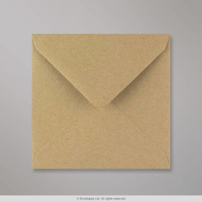 Rakeisen näköinen kirjekuori voimapaperista 130x130 mm