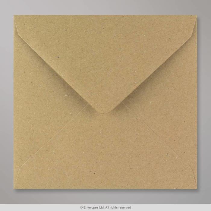Rakeisen näköinen kirjekuori voimapaperista 155x155 mm