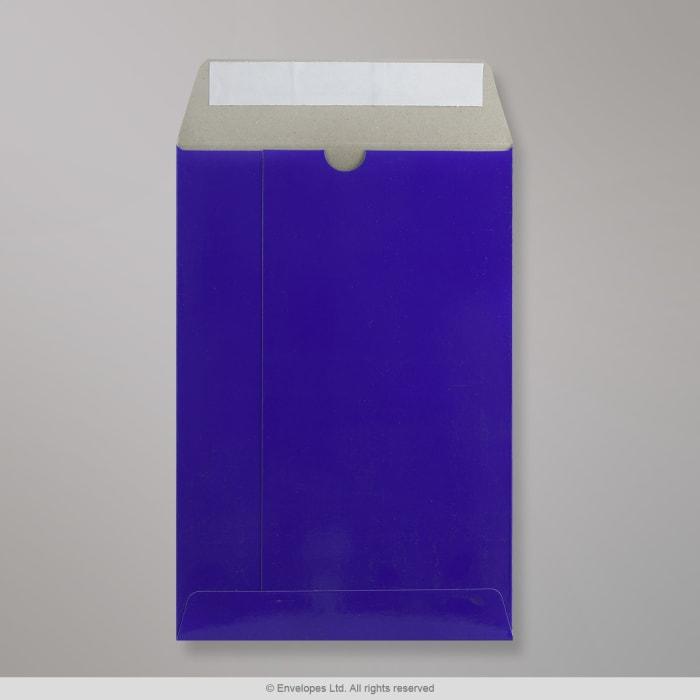 235x162 mm Modrá celokartónová obálka