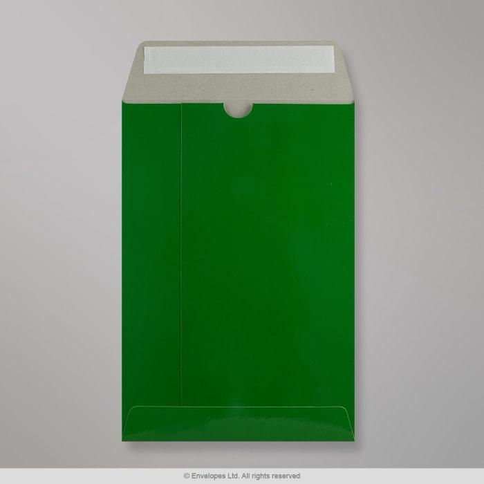 Enveloppe verte tout en carton 235x162 mm