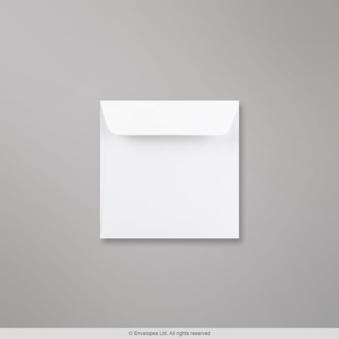 Enveloppe blanche 110x110 mm