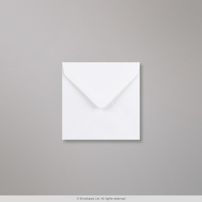 Bílá obálka 116x116 mm