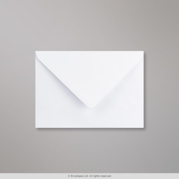 125x175 mm Wit Geweven Envelop
