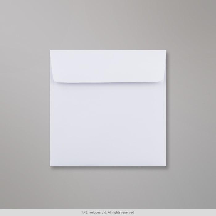 Weißer Briefumschlag 140x140 mm