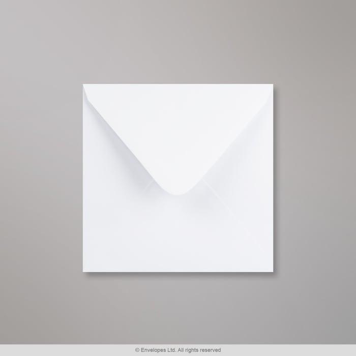 Hvidvævet konvolut 155x155 mm