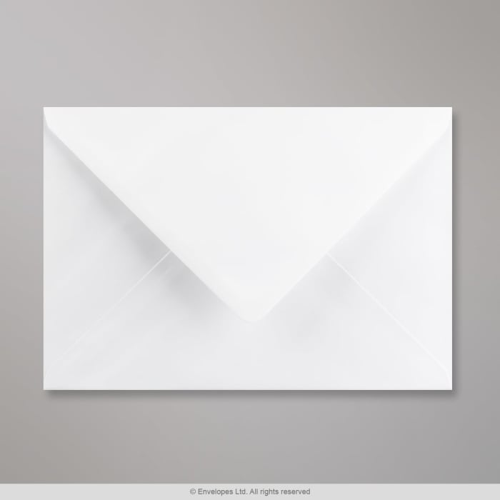 176x250 mm Wit Geweven Envelop