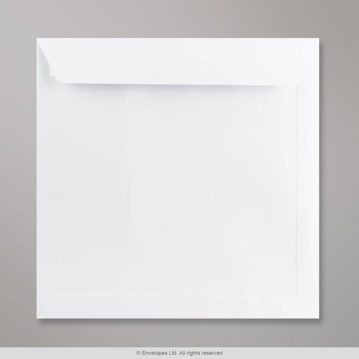 240x240 mm Biela obálka