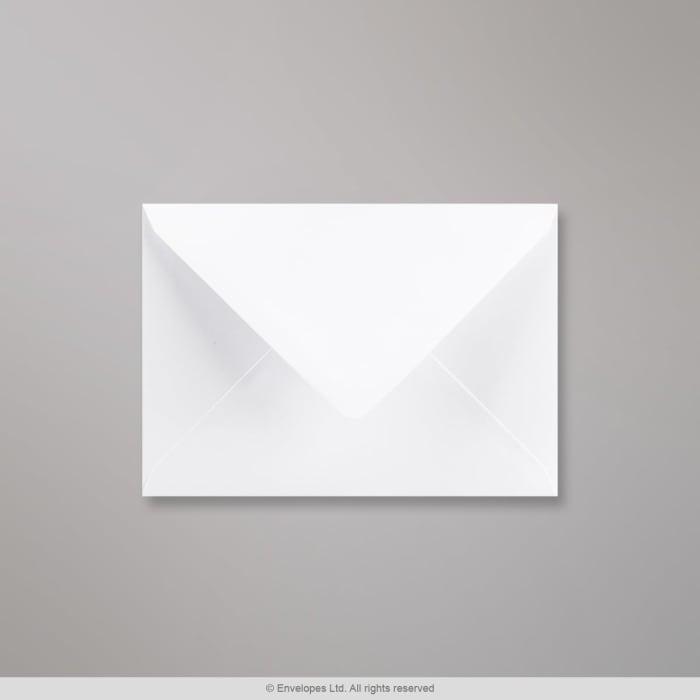 114x162 mm (C6) Wit Geweven Envelop