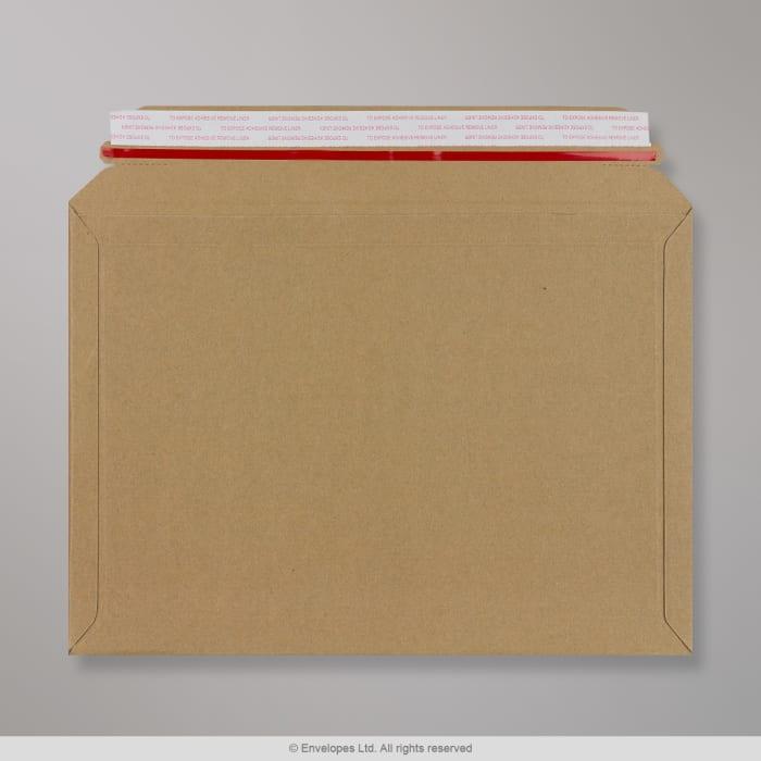 234x334 mm Pojemna koperta na książki z tektury falistej typu F