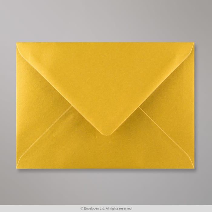 Enveloppe or métalisée 125x175 mm