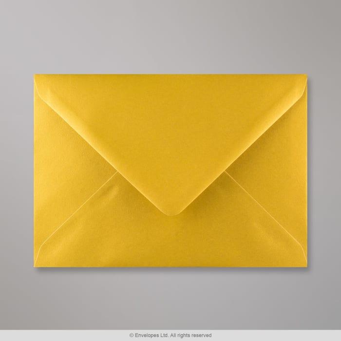 Enveloppe or métalisée 133x184 mm