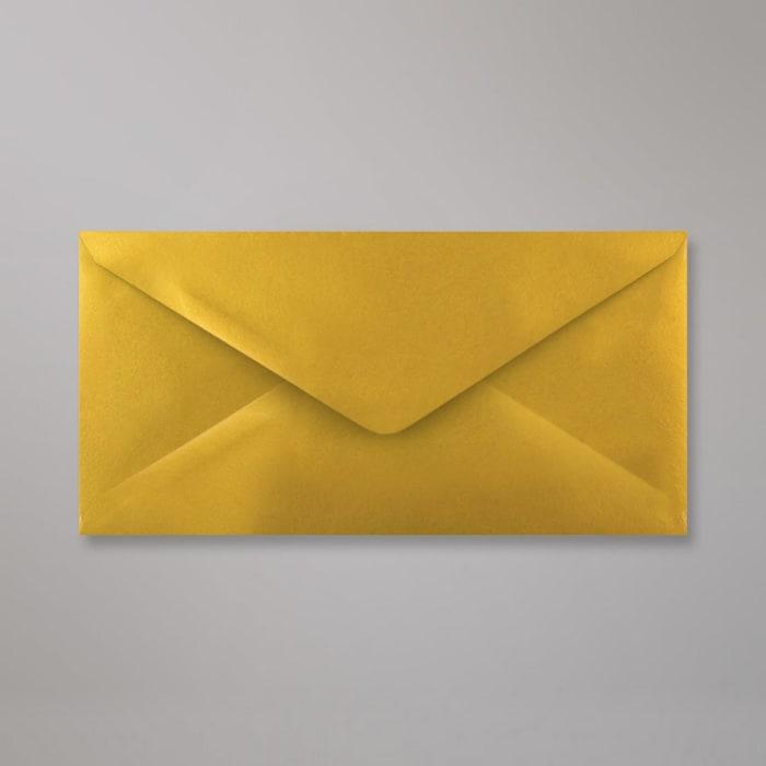 Enveloppe or métalisée 110x220 mm (DL)