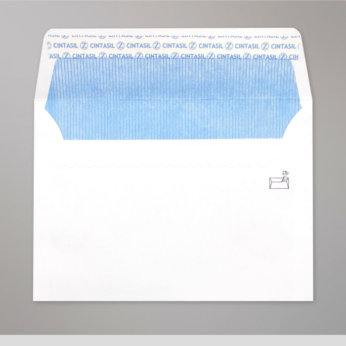 Hvid konvolut 114x162 mm (C6)