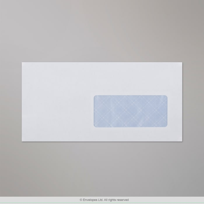 Enveloppe blanche 110x220 mm (DL)