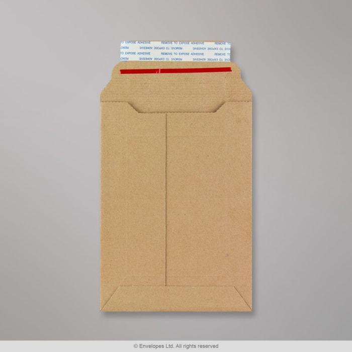 Kapazität-Versandtasche aus Wellpappe 185x125 mm