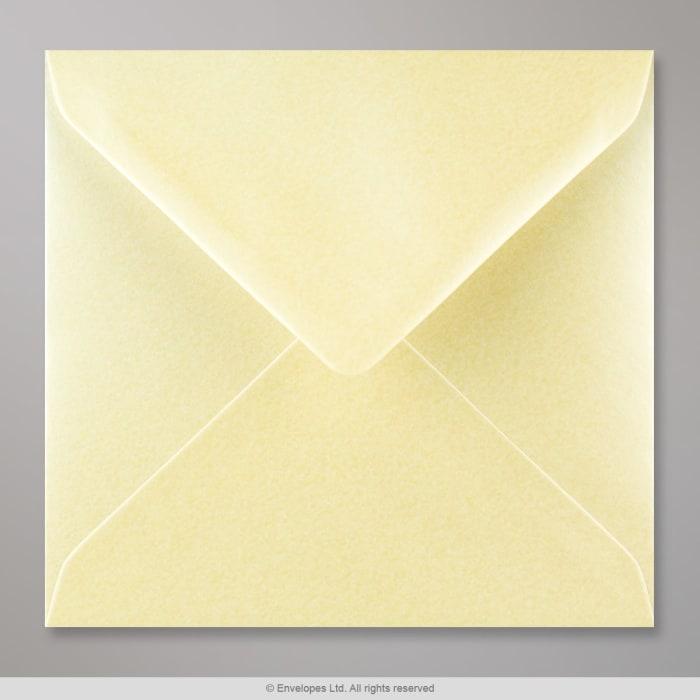 155x155 mm Champagne Lustre Envelope