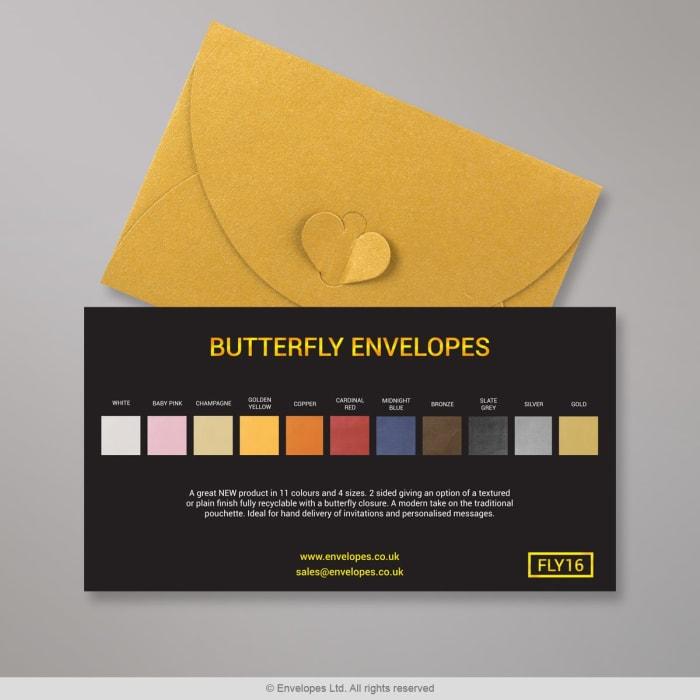 Enveloppes Papillon - Carte des Couleurs